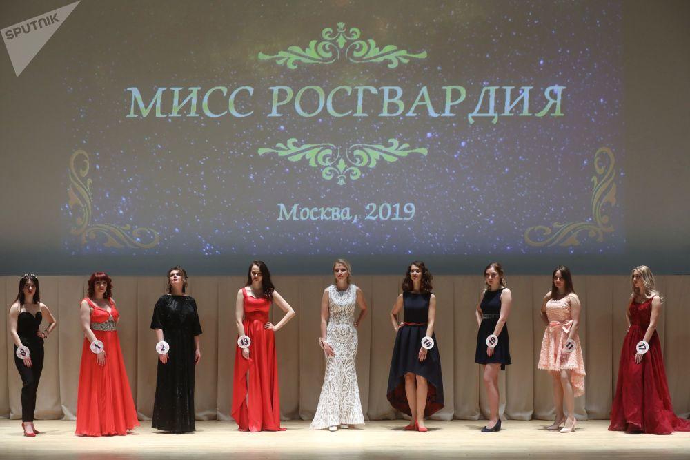 Moskova'da Ulusal Muhafızlar Birliği Güzeli 2019 yarışması