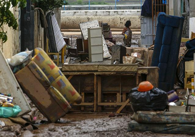 Brezilya'da aşırı yağışlar 7 can aldı