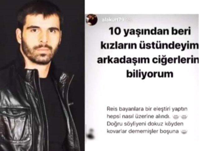 Mehmet Akif Alakurt'un Instagram paylaşımı