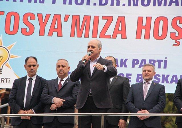 AK Parti Genel Başkan Vekili Numan Kurtulmuş, Kastamonu Tosya'da