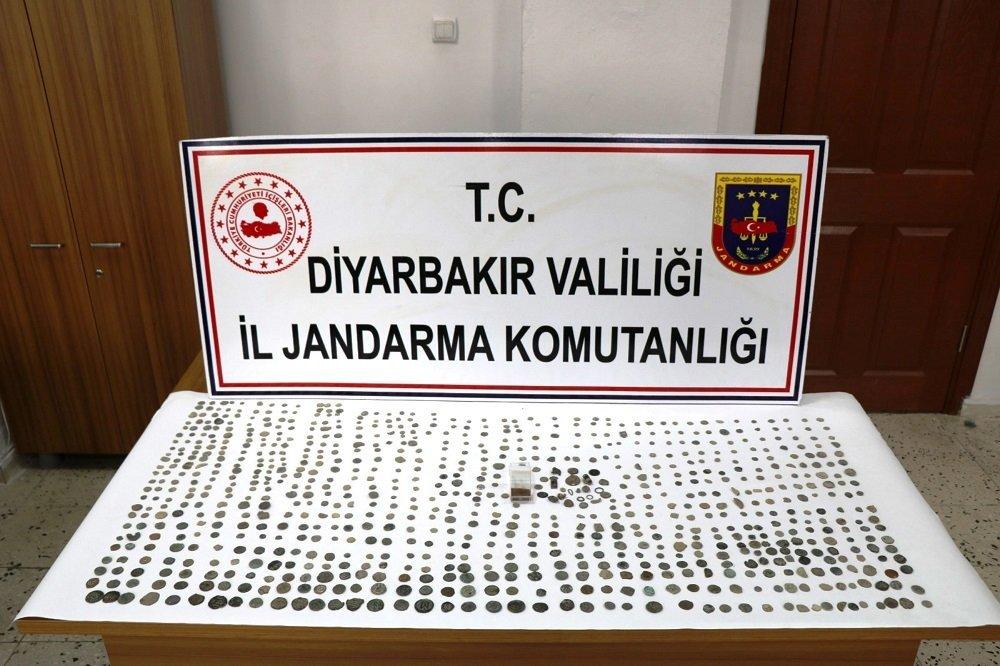 Diyarbakır, operasyon, Bizans ve Roma dönemine ait bin tarihi eser ele geçirildi