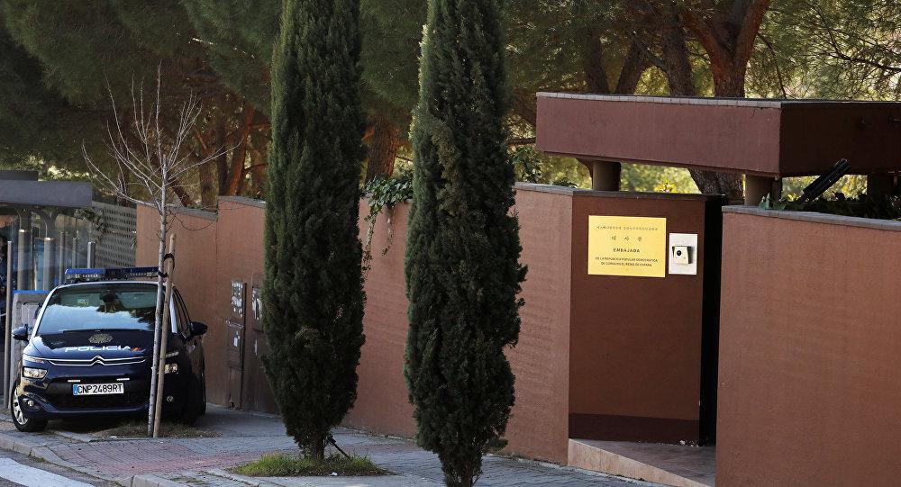 Kuzey Kore'nin Madrid Büyükelçiliği
