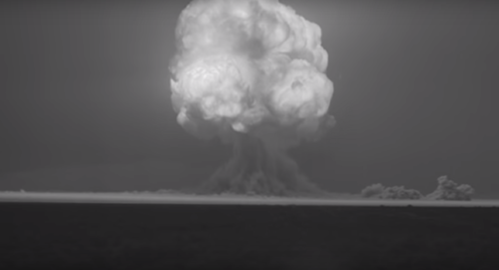 Tarihin ilk nükleer patlaması HD kalitesiyle ekranda