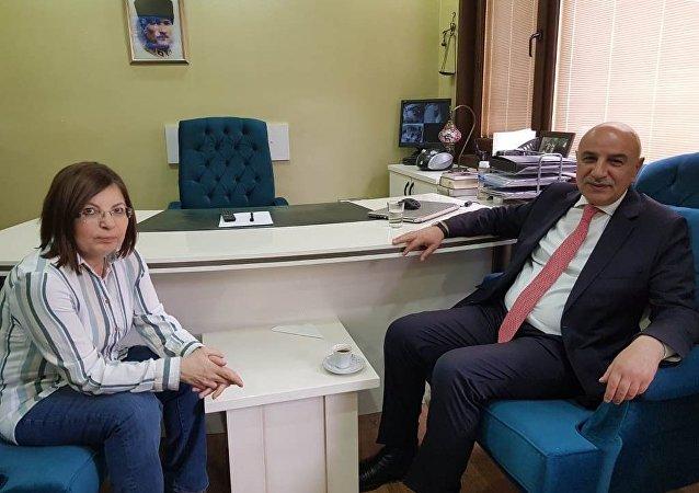 AK Parti'nin Keçiören Belediye Başkan adayı Turgut Altınok