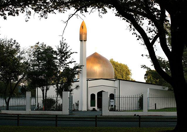 Yeni Zelanda'da Christchurch kentinde silahlı saldırı düzenlenen camilerden biri