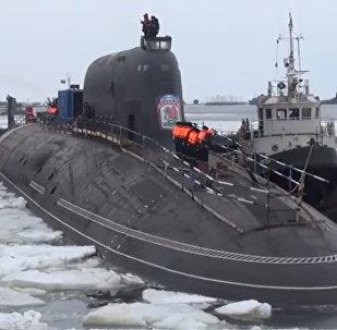 Yeni Rus nükleer denizaltılarının görüntüleri yayınlandı