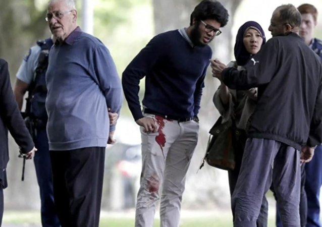 Görgü tanığı Yeni Zelanda'daki terör saldırısının ayrıntılarını anlattı
