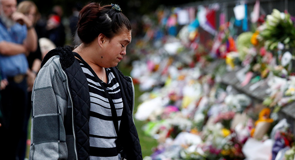 Yeni Zelanda cami saldırılarında yaşamını yitirenler Christchurch kentinde çiçeklerle anıldı