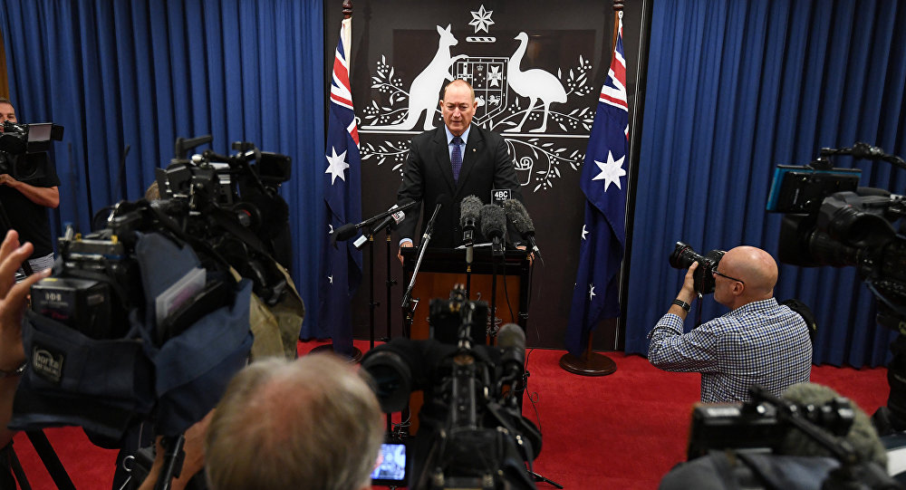 Avustralyalı Senatör Fraser Anning
