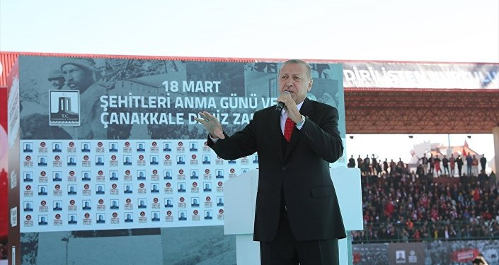 Recep Tayyip Erdoğan, Çanakkale Zaferi, anma