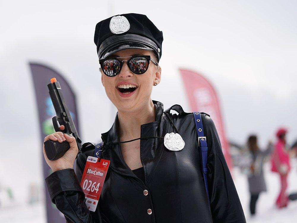 BoogelWoogel-2019 Dağ Festivali'nin katılımcılarından biri.