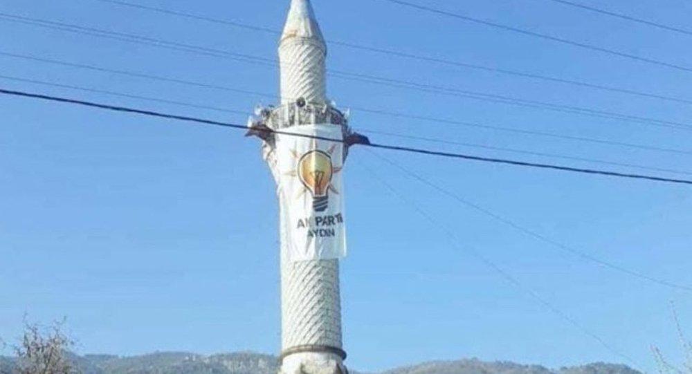 AK Parti - minare - Aydın