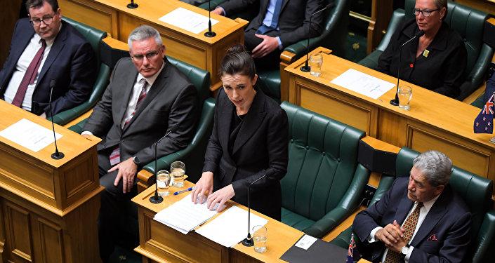 Yeni Zelanda Başbakanı Jacinda Ardern, Christchurch'teki cami saldırılarının ardından ilk kez parlamentoda konuştu