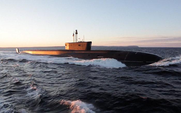 Rusya Borey tipi stratejik füze denizaltısının test videosunu yayınladı