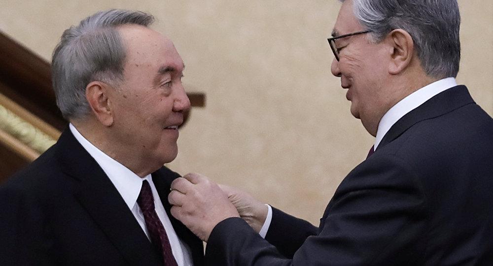 Kasım Cömert Tokayev - Nursultan Nazarbayev