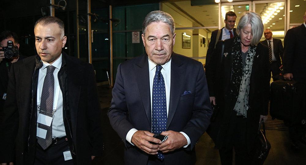 Yeni Zelanda Dışişleri Bakanı Winston Peters