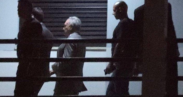 Tutuklanan eski Brezilya Cumhurbaşkanı Michel Temer