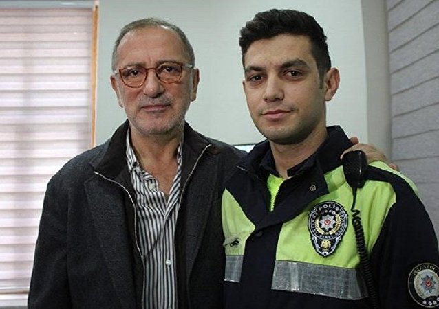 Fatih Altaylı ile hakaret ettiği polis memuru