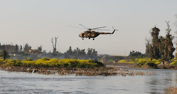 Musul'da feribot battı