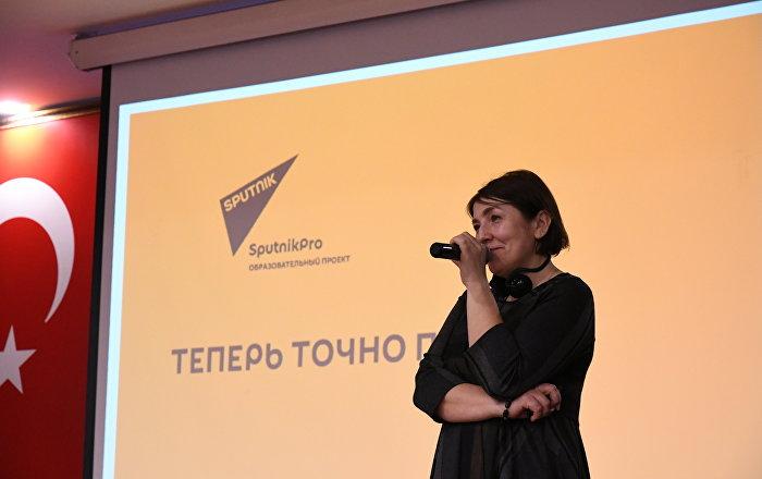 Sputnik yöneticisi Loseva'dan Yeditepe Üniversitesi'nde teknoloji ve habercilik konferansı