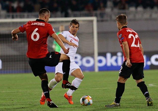 Türkiye A Milli Takımı Arnavutluk'u deplasmanda mağlup etmeyi başardı