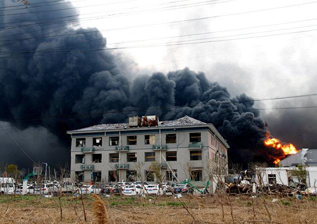 Çin - Kimyasal tesisinde patlama