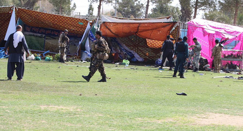 Afganistan Çiftçi Bayrami saldırı