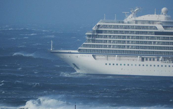 Norveç kıyılarındaki tur gemisinden 1300 kişi tahliye ediliyor