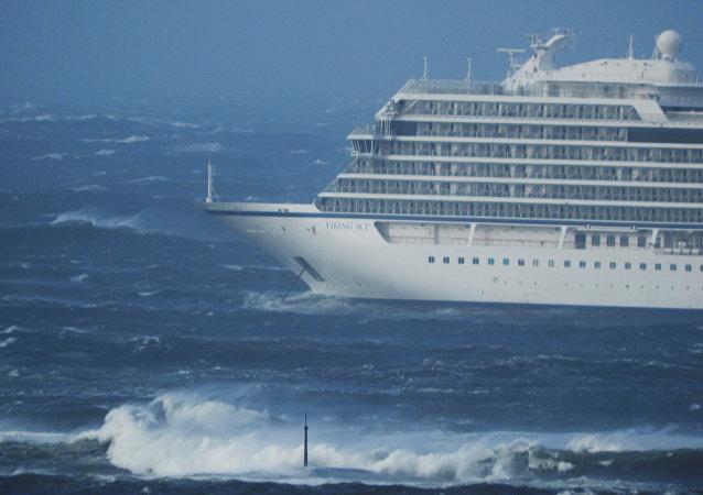Viking Sky adlı tur gemisi