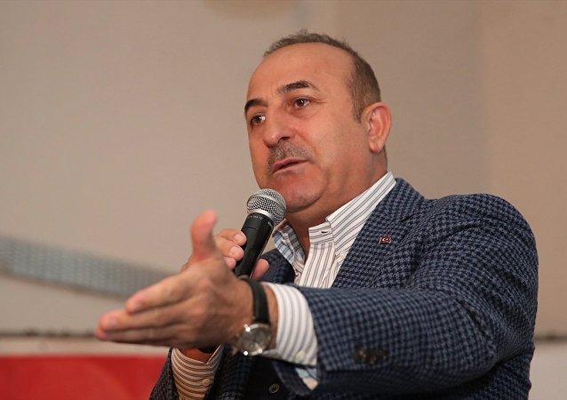 Antalya'da temaslarını sürdüren Dışişleri Bakanı Mevlüt Çavuşoğlu