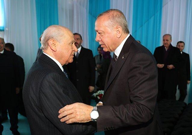 Recep Tayyip Erdoğan- Devlet Bahçeli