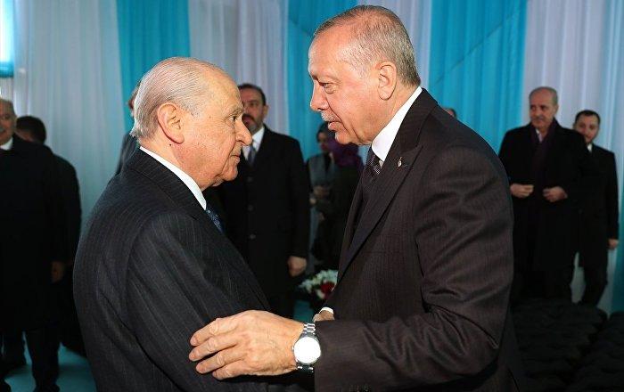 Erdoğan bugün Bahçeli'yi kabul edecek