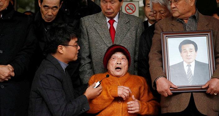 Japon sömürge döneminde savaş zamanı zorunlu çalışma kurbanı olan Kim Seong-ju