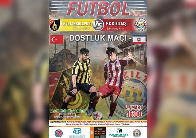 İstanbulspor - Kızıltaş Dostluk Maçı