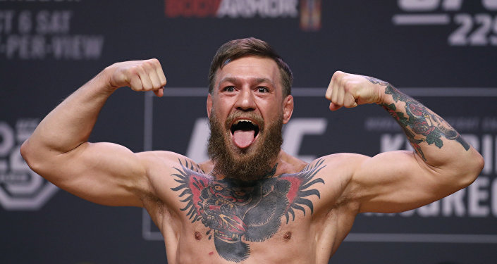 Dünyaca ünlü İrlandalı karma dövüş (MMA) sporcusu Conor McGregor