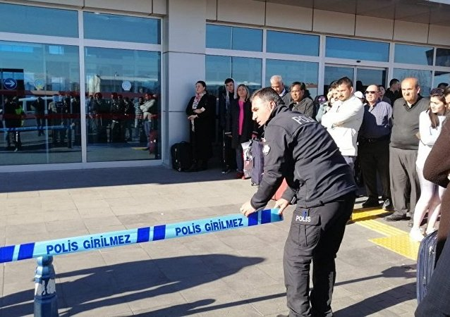 Kayseri Havaalanı, silah sesleri