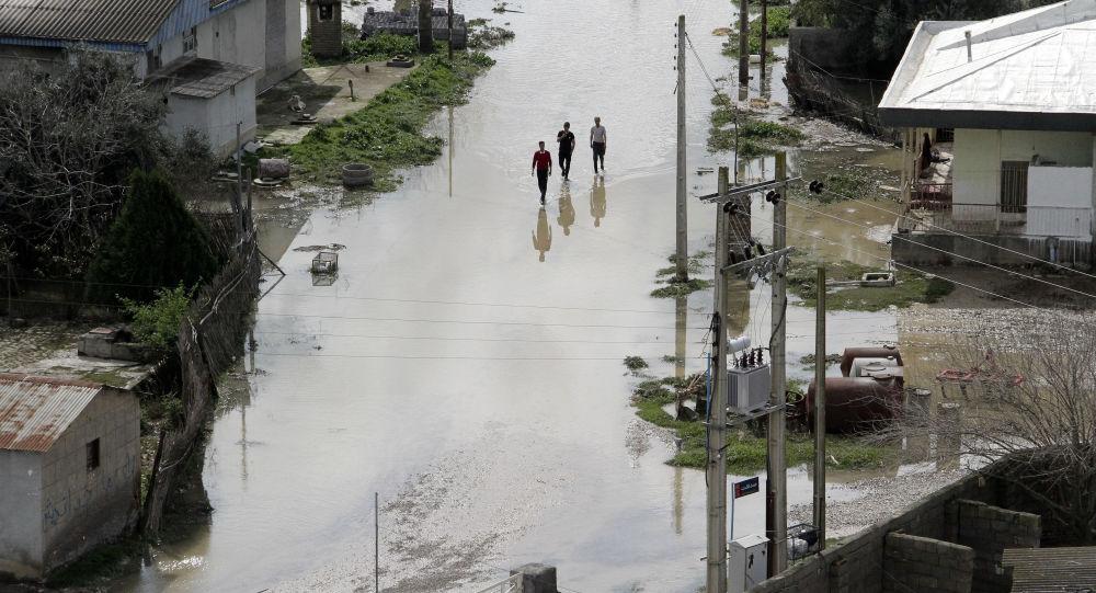 İran'da sel felaketi