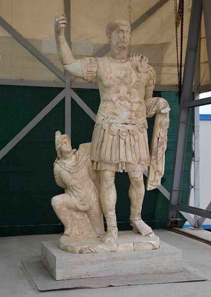 Denizli'deki Laodikya Antik Kenti'nde bulunan tarihi eserler