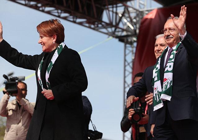Meral Akşener- Kemal Kılıçdaroğlu