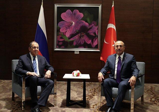 Dışişleri Bakanı Mevlüt Çavuşoğlu- Rusya Dışişleri Bakanı Sergey Lavrov