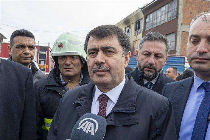 Ankara Valisi Vasip Şahin, yangının çıkış nedeninin henüz bilinmediğini söyledi.