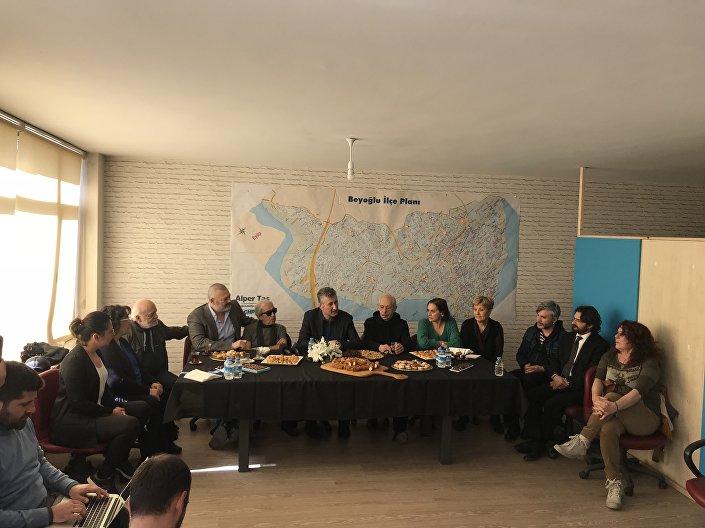 CHP'nin Beyoğlu Belediye Başkan adayı Alper Taş