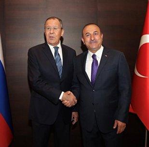 Mevlüt Çavuşoğlu - Sergey Lavrov