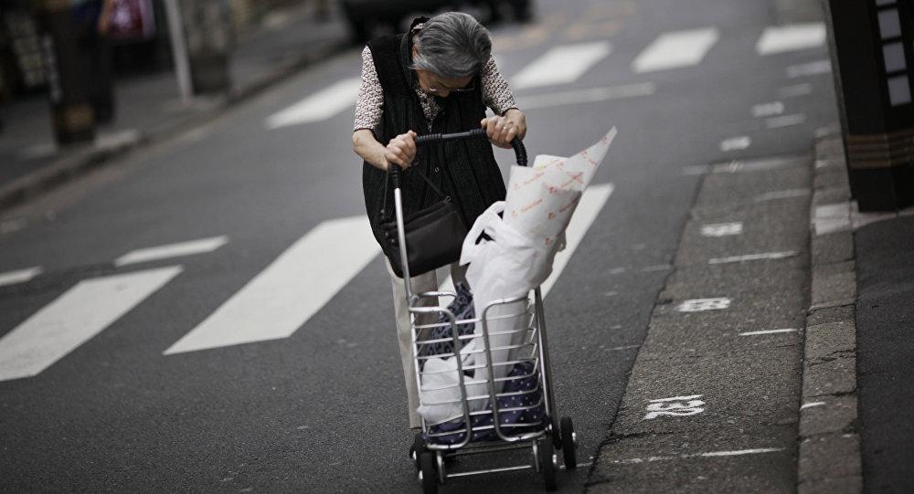 Japonya-yaşlı nüfus