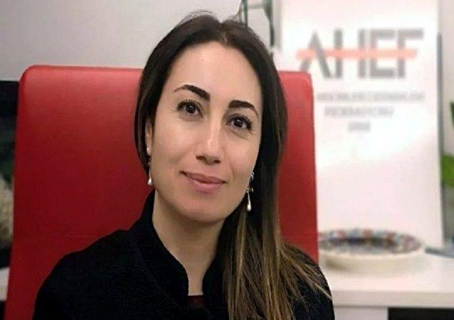 AHEF Yönetim Kurulu Başkanı Dr. Özlem Sezen