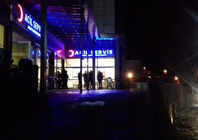 Kars'ın Kağızman ilçesinde muhtarlık seçimi nedeniyle çıkan silahlı kavga