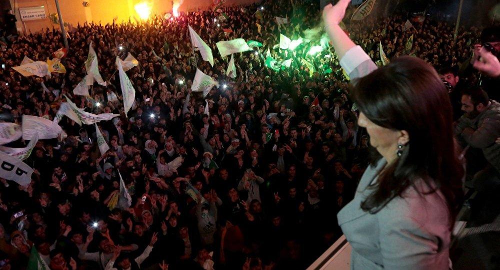 HDP Eş Genel Başkanı Buldan: Kayyum politikası çökmüştür