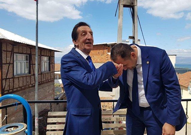 Bursa'da baba oğul yarışında kazanan belli oldu