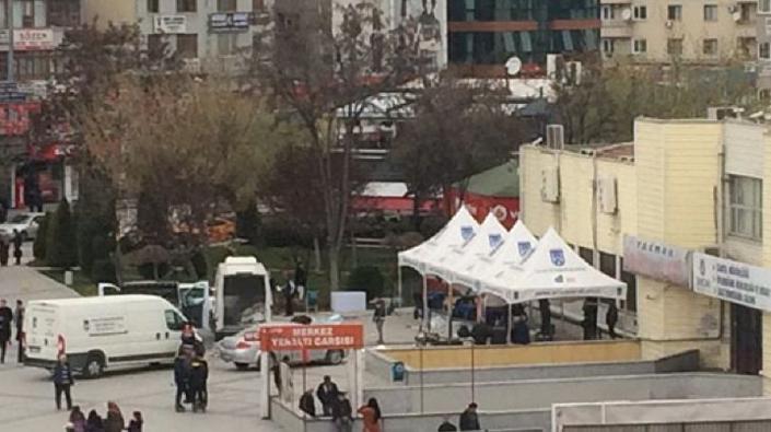 Ankara Sincan tanzim satış çadırı