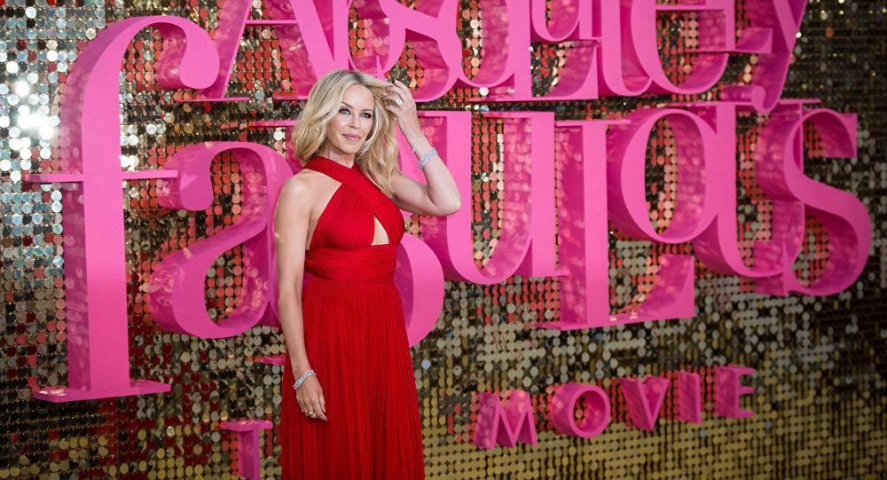 Avustralyalı şarkıcı Kylie Minogue